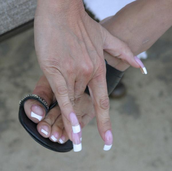 ... ногтей фото Френч - дизайн ногтей: mosglamours.ru/nail_art/french/page_03.html