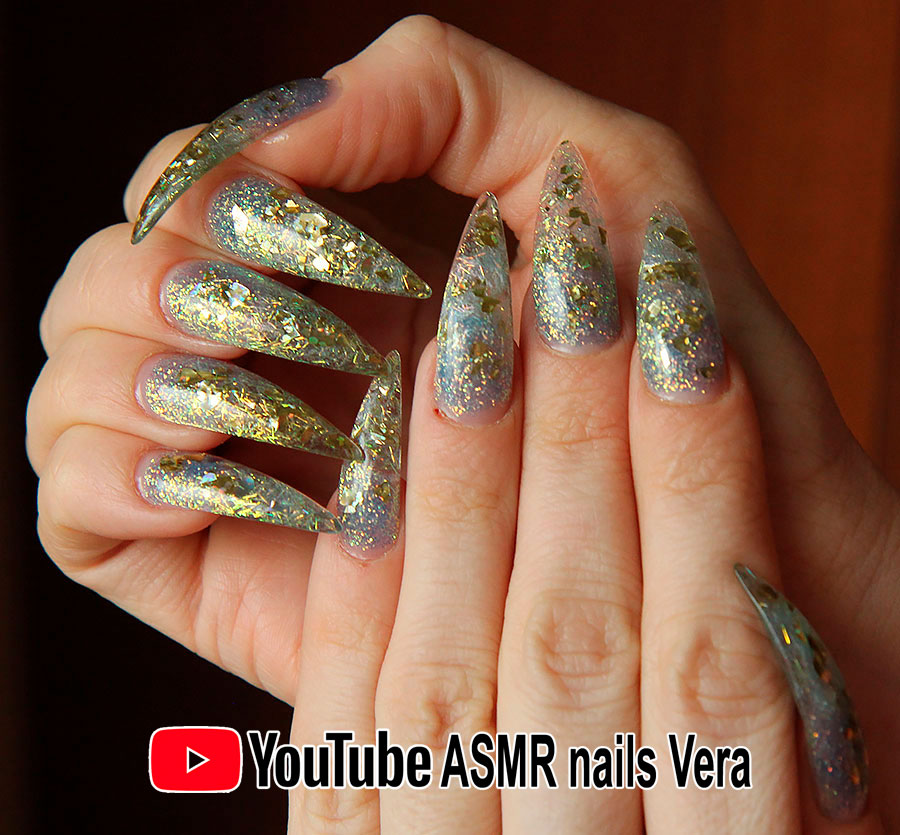 Длинные ногти очень секси видео